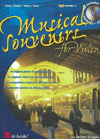 Musical Souvenirs (+CD) : for violin 10 original pieces in various styles
