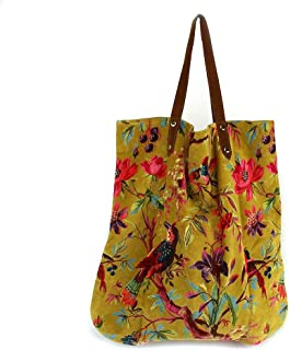 si moda Damen Tasche Handtasche Shopper Strandtasche Imbarro Baumwolle Paradise