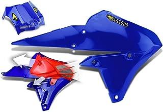 Cycra 14-18 Yamaha YZ250F Powerflow Radiator Shrouds (Blue)