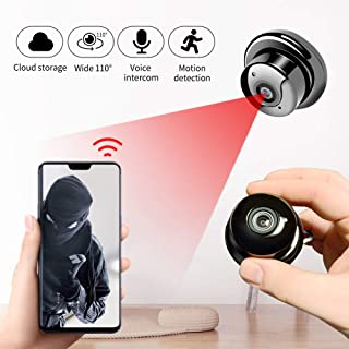 1080p Wireless Mini WiFi Cámara Cámara de Seguridad del hogar IP Vigilancia Night Vision Motion Detectar Monitor 120 * 80 * 120mm Sin Luces Añadir 64G