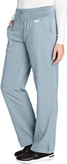 Grey's Anatomy 4-Pocket Yoga Knit Pant for Women - Modern Fit Medical Scrub Pant
