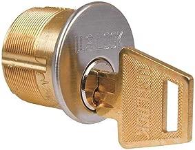 US Lock 7205YA1-25-KA2 Mortise Cylinder 1-1/4 in. Yale Cam Y1 Keyway Chrome Ka2
