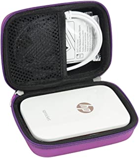 Hermitshell Hard EVA Travel Case for HP Sprocket Portable Photo Printer (Purple)