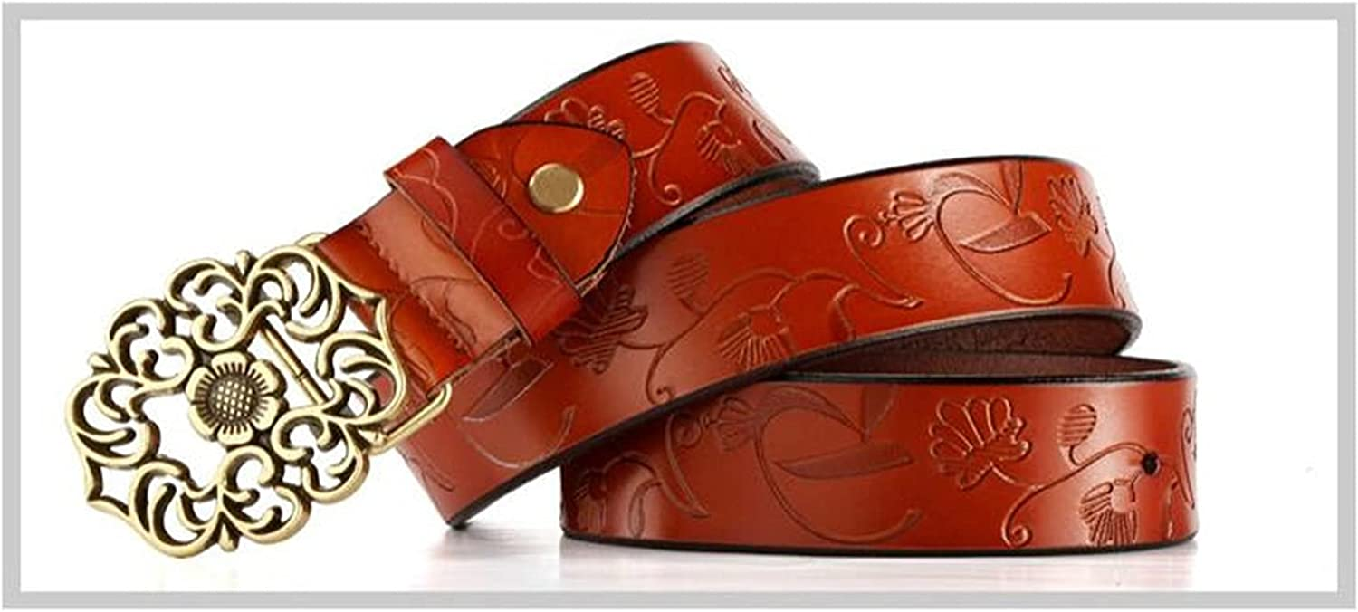 DSJTCH Fashion Women Plus Size Belts Indianapolis Mall Leather Wide Genuine NEW before selling Vintag