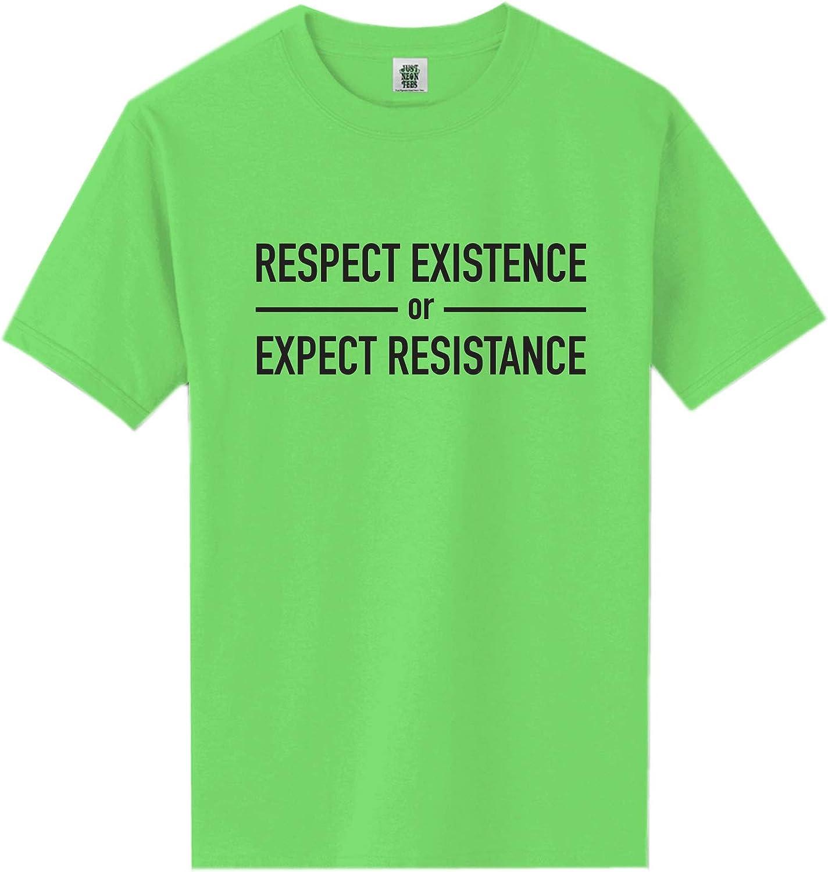 zerogravitee Respect Existence Short Sleeve Neon Tee