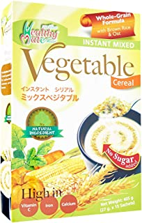 Healthy Mate Vegetable Cereal, No Sugar, 27g (Pack of 15)