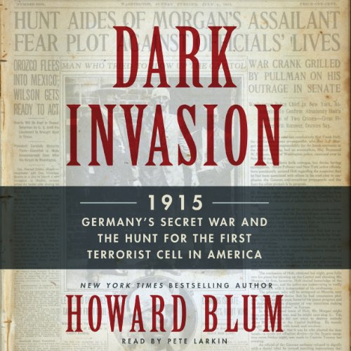 Dark Invasion audiobook cover art