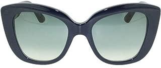 Gucci Women's Sunglasses Cateye GG0327S Blue/Grey