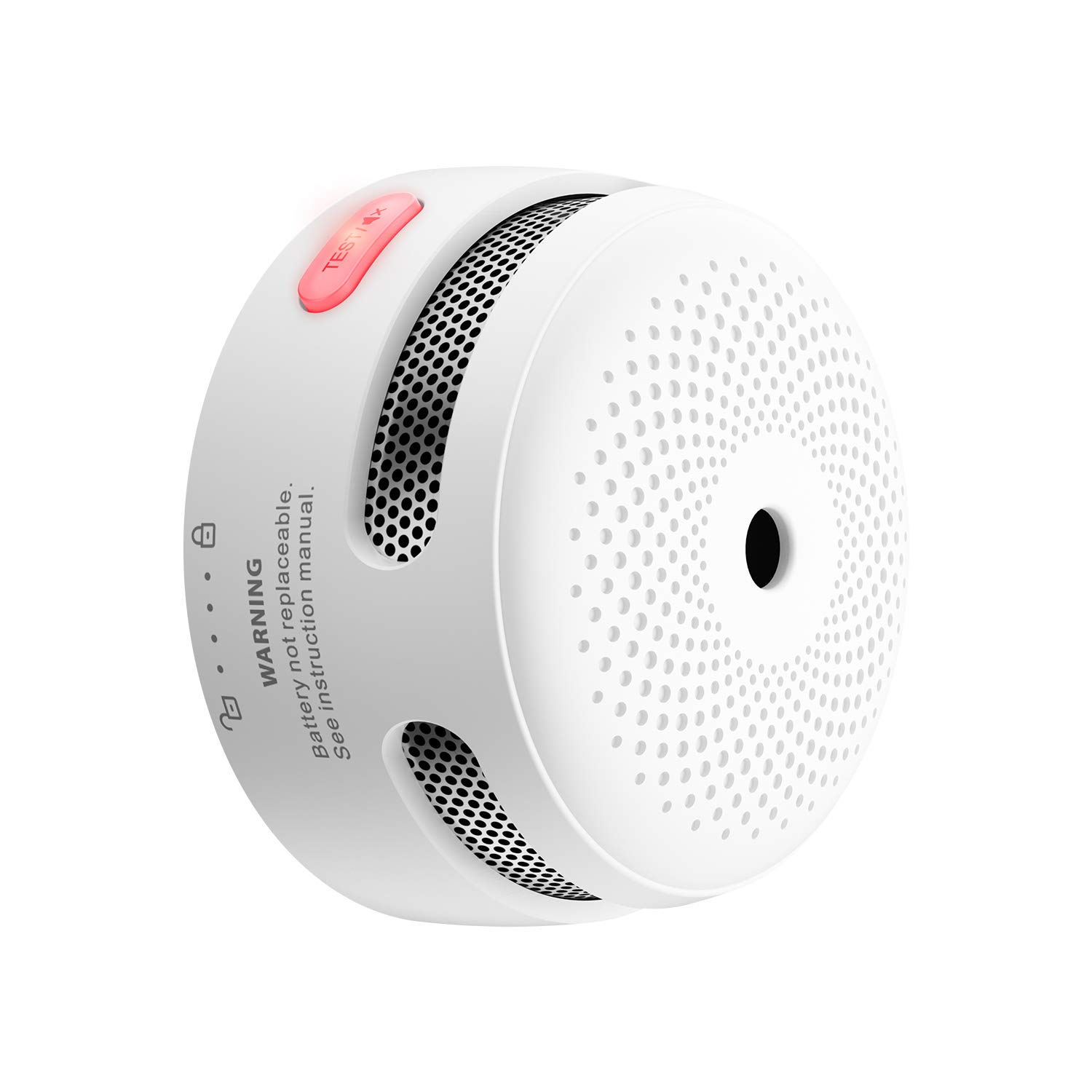 X-Sense Mini Smoke Alarm 10-Year Battery Fire Alarm Smoke Detector with LED
