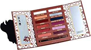 Pop Culture Referenced Eye Shadow Palette Makeup Kits (Disney: Mulan Warrior)