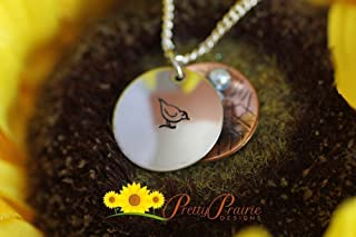 Little Bird Nest Necklace - Sparrow Necklace - Mother Gift - Pearl Eggs Necklace - Bird Jewelry - Hidden Nest Necklace - Baby Shower Gift