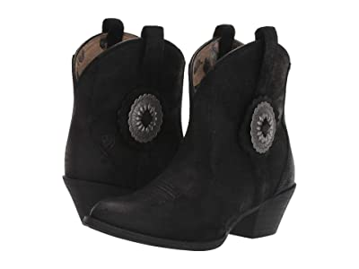Ariat Cantina (Black Suede) Cowboy Boots