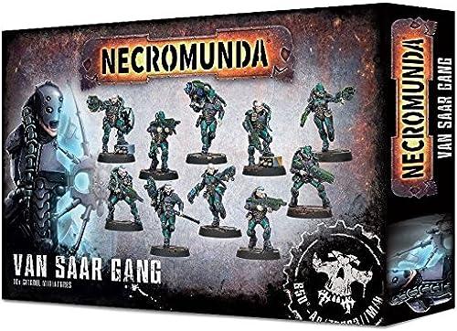 Necromunda Games Workshop Van Saar Gang (300-29) Warhammer 40k