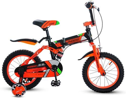 Brilliant firm Kinder fürrad Falten 14 Zoll Schüler Mountain Body High, 100-130cm M er und Frauen Kinder Kinderwagen