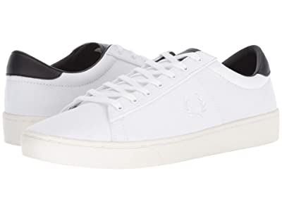 Fred Perry Spencer Canvas (White) Men