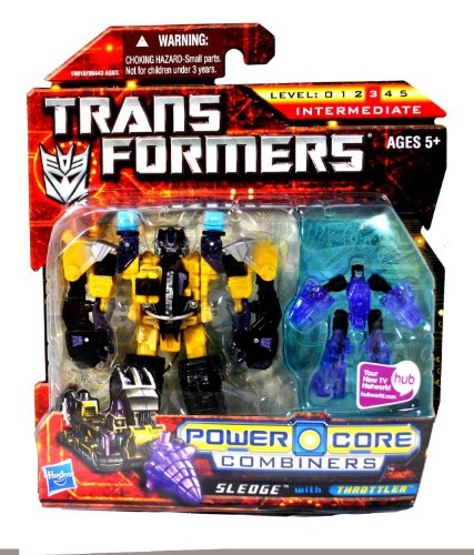 Transformers Power Core Combiners Sledge with Throttler [Toy] (japan import)