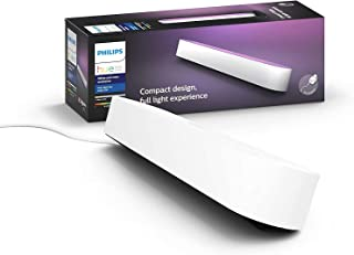 Philips Hue Play White and Colour Ambiance Smart Light Bar Single Pack Base Unit, Entertainment Lighting for TV and Gaming...