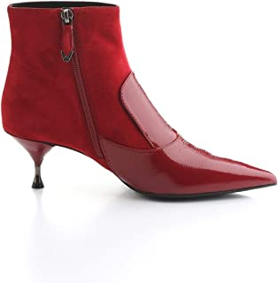 Bruno Premi Luxury Fashion Womens 4302GFUOCO Red Ankle Boots | Fall Winter 19