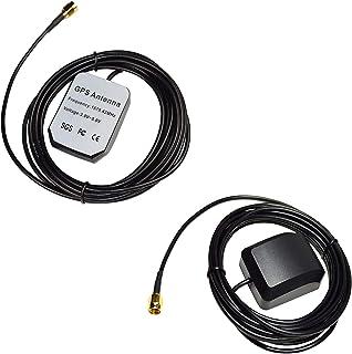 HQRP Dos antenas externas SMA GPS para fTech GPS Antenne SMA FGPANE1A2 / FGPANE1A5 + HQRP medidor del sol