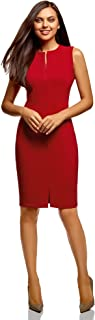 Mujer Vestido Ajustado con Cremallera Oculta