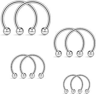 Best eyebrow piercing jewelry sizes Reviews