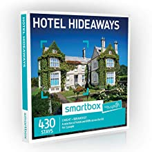Buyagift One Night Hotel Hideaways Experience Box - 430 overnight quirky or traditional breaks across the UK for two people