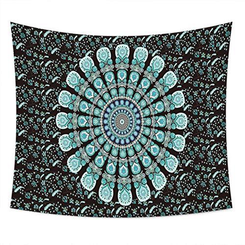 nobranded Tai Chi Ocho diagramas Tapiz Cortina drapeada con Estampado Bohemio Tapiz para el hogar Decoración de Pared Toalla de Playa Tela Decorativa