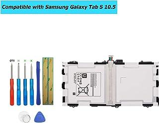 Upplus EB-BT800FBE - Batería de Repuesto Compatible con Samsung Galaxy Tab S 10,5 Galaxy Tab S 10,5 LTE SM-T800 EB-BT800FBC EB-BT800FBU con Kit de Herramientas