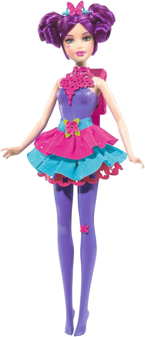 Barbie Ranking TOP19 Sparkle Light Up Purple Doll Fairy Seasonal Wrap Introduction