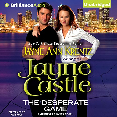 The Desperate Game audiobook cover art