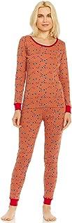 Leveret Women's Pajamas Fitted Christmas 2 Piece Pjs Set 100% Cotton Sleep Pants Sleepwear (XSmall-XLarge)