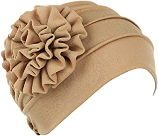 Mookiraer Unisex 100% Cotton Beanie Soft Sleep Cap Hospital Cap Hairloss Cancer Chemo