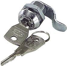 Caj/ón Archivador y as/í Armario VLOGA 1 Cerradura de la Leva con 2 Clave Adecuado para la Buz/ón