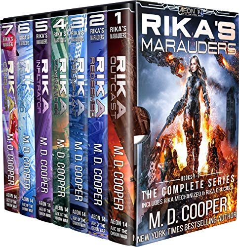 Rikas Marauders: The Complete Series (Aeon 14: Rika Collections Book 1) (English Edition)