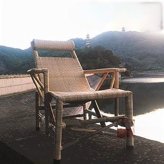 A-myt Confortable et Beau Chaise Longue en rotune Chaise inclinable Domicile Domicile FLIGAIRE Chaise Octonnier Bureau déj...