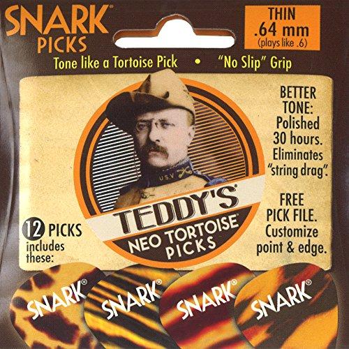 Snark Teddys Neo - Púas de tortuga (0,64 mm, 12 unidades)