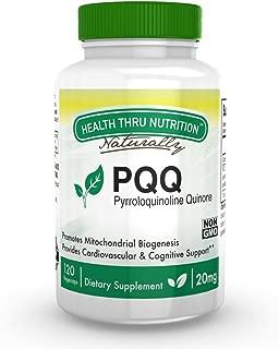 PQQ 20mg 120 Vegecaps (Pyrroloquinoline Quinone)