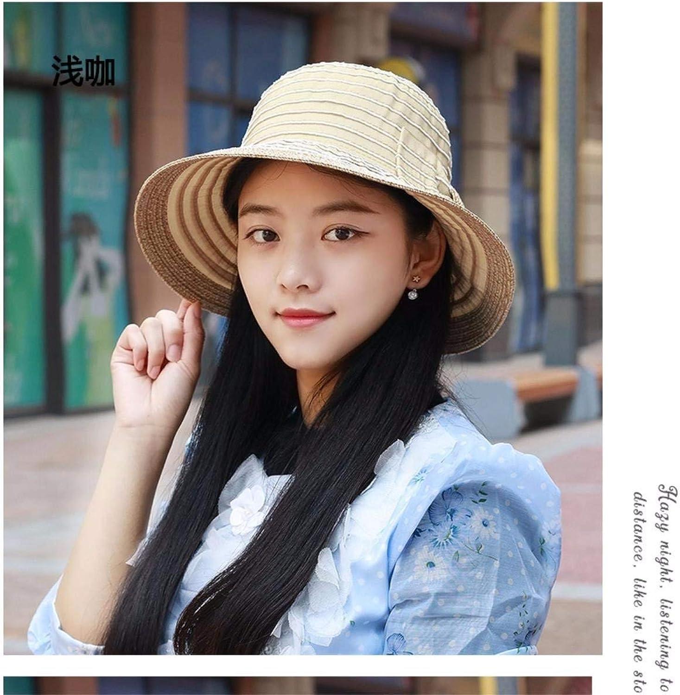 BRNEBN Hat female summer wrinkled lotus leaves women hat hats sunside cap visor video thin Hats