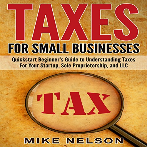 Taxes for Small Businesses audiobook cover art