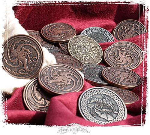 LARP-Münzset Drachen