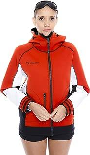 Unisex PRO Neoprene Jacket Wetsuit Hoodie - Waterproof Wind Sailing Fishing Surf Jackets for Men and Women