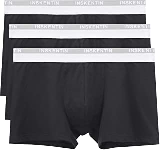 3 Pack Men's Low Rise Cotton Stretch Trunks Tagless Ultra Soft Pouch Underwear