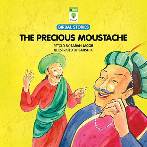 The Precious Moustache audiobook cover art