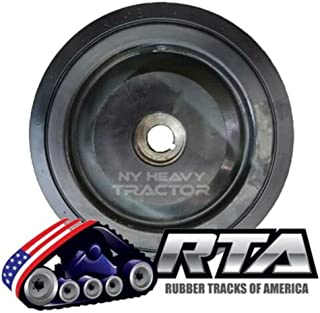 "One 10"" DuroForce Bogie Wheel Fits CAT 287C 287C2 287D RW18 372-5776 New Style"