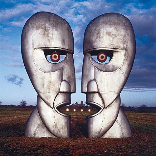 "Stampa su Tela Motivo Pink Floyd The Division Bell"", Cotone, Multicolore, 1,80x 40 x 40cm"
