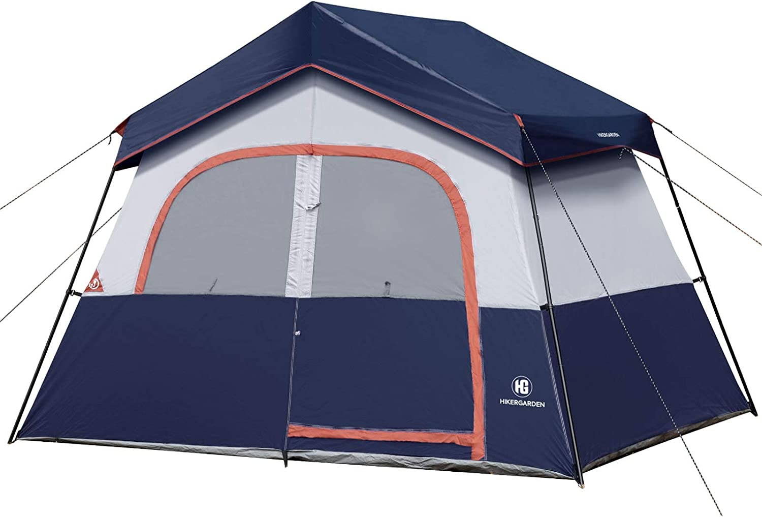 Oakland Mall Camping Tent - HIKERGARDEN Reinforced Superior 6 for Person