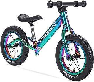 Kids Sport Balance Bike, Classic Push Walking Bicycle Toy, Lightweight Balance Bike-No Pedal Sport Training Bicycle for Bo...