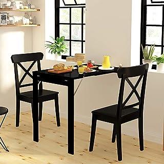 Folding table Table Pliante Murale Cuisine Multifonction Table Murale Rabattable Contemporain Fixés Au Mur Table De Balcon...