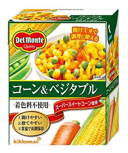 デルモンテ ン ン 食品 コーン&ベジタブル 1個