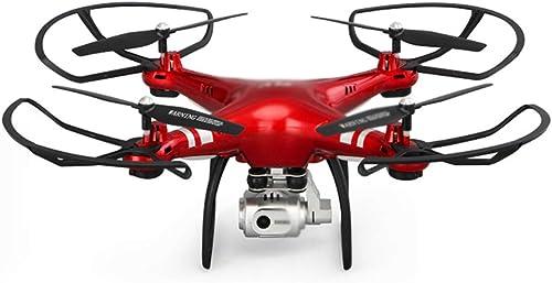Quadcopter Flugbahn Flug 3D Flips 1080p HD Kamera FPV Drohne Fernbedienung Flugzeug Ein Schlüssel Abheben Retur Kinderspielzeug Für Anf er RC Flugzeug,rot anti shake aerial photography-414114cm